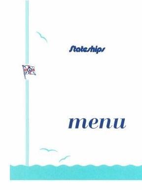 Stateship menu