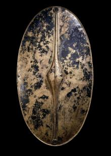 Iron Age shield made completely from bronze found in Europe