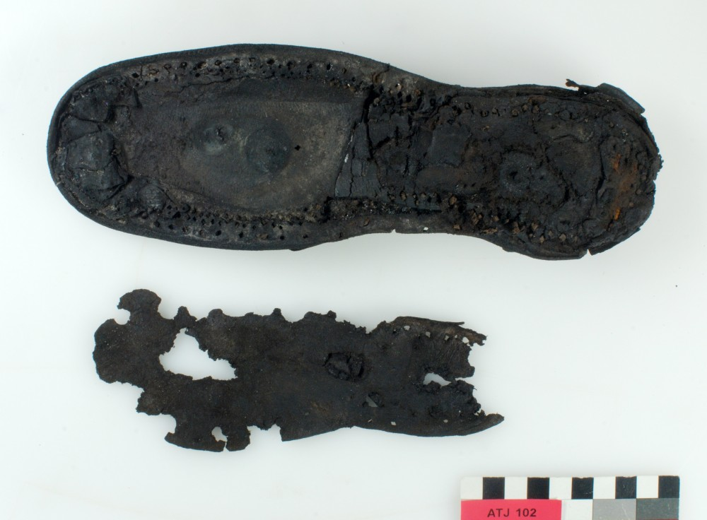 Rope/leather/etc. artefact recovered from Albany Town Jetty site