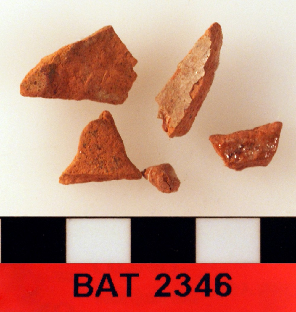 Earthenware artefact recovered from Batavia