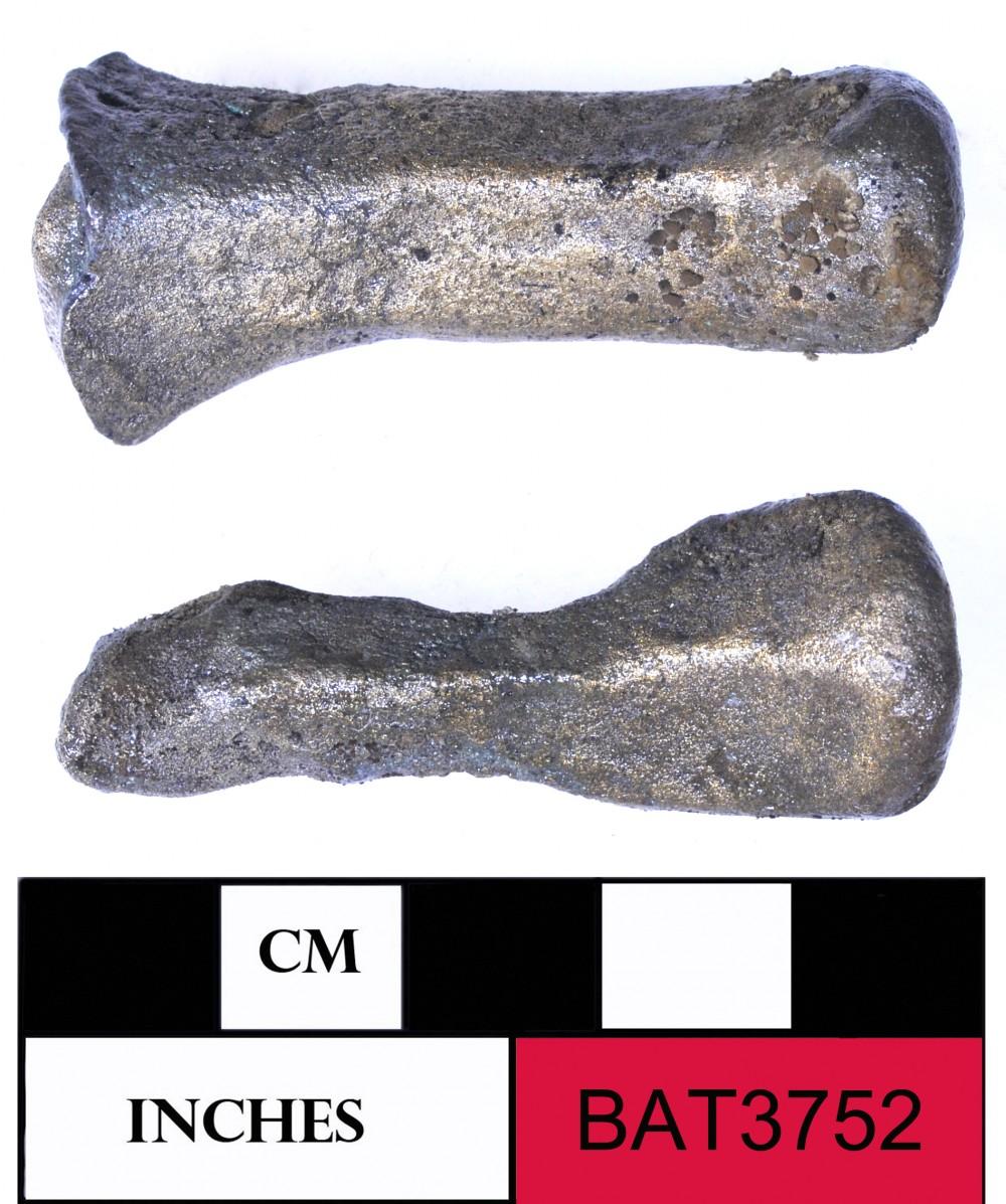 Bronze artefact recovered from Batavia