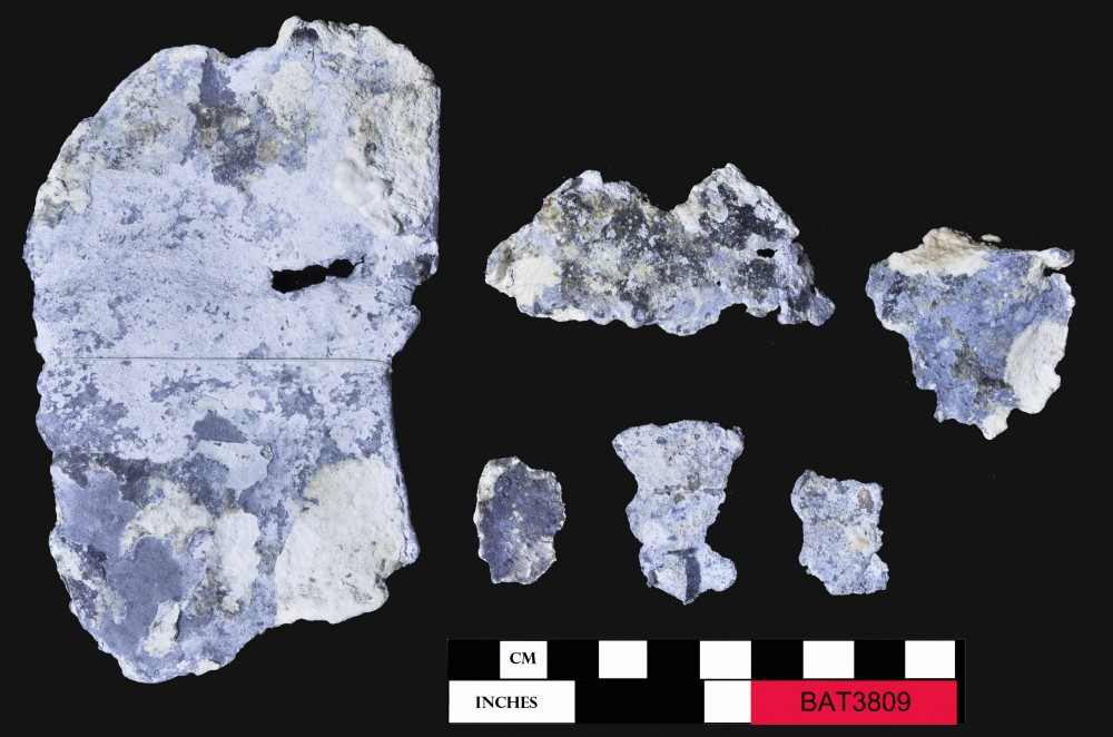 Lead artefact recovered from Batavia
