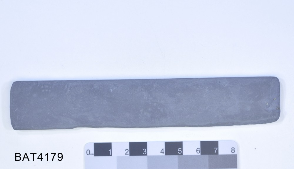 Slate artefact recovered from Batavia