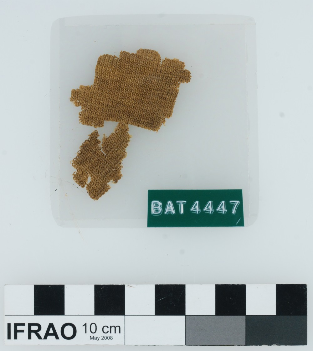Textile artefact recovered from Batavia