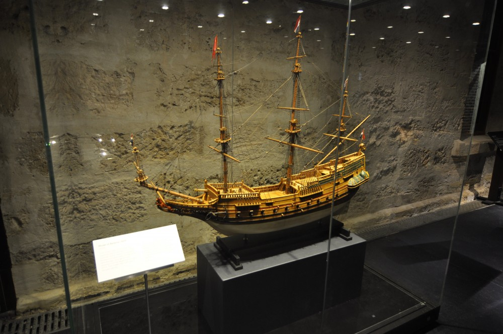 Batavia Ship Model