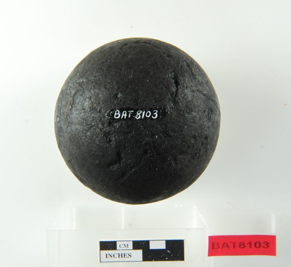 Armament artefact recovered from Batavia