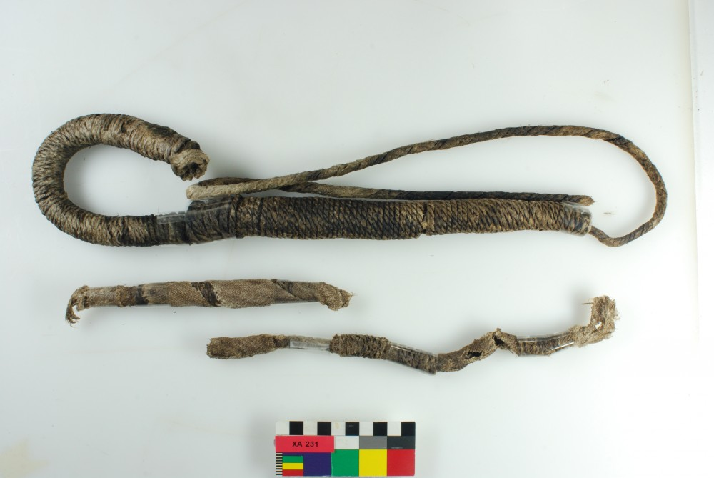 Rope/leather/etc. artefact recovered from Xantho