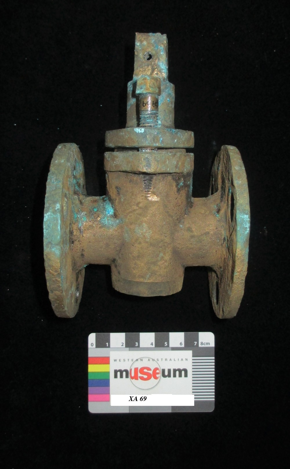 Ship's fittings artefact recovered from Xantho