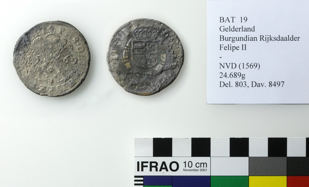 Silver Burgundian Rijksdaalder