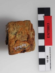 Bricks artefact recovered from Eagle's Nest