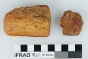 Resin/wax/etc artefact recovered from Vergulde Draak (Draeck) (Gilt Dragon)