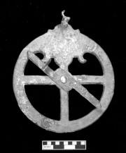 Bronze artefact recovered from Vergulde Draak (Draeck) (Gilt Dragon)