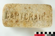 Bricks artefact recovered from Orizaba SS