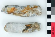 Lead artefact recovered from Rapid