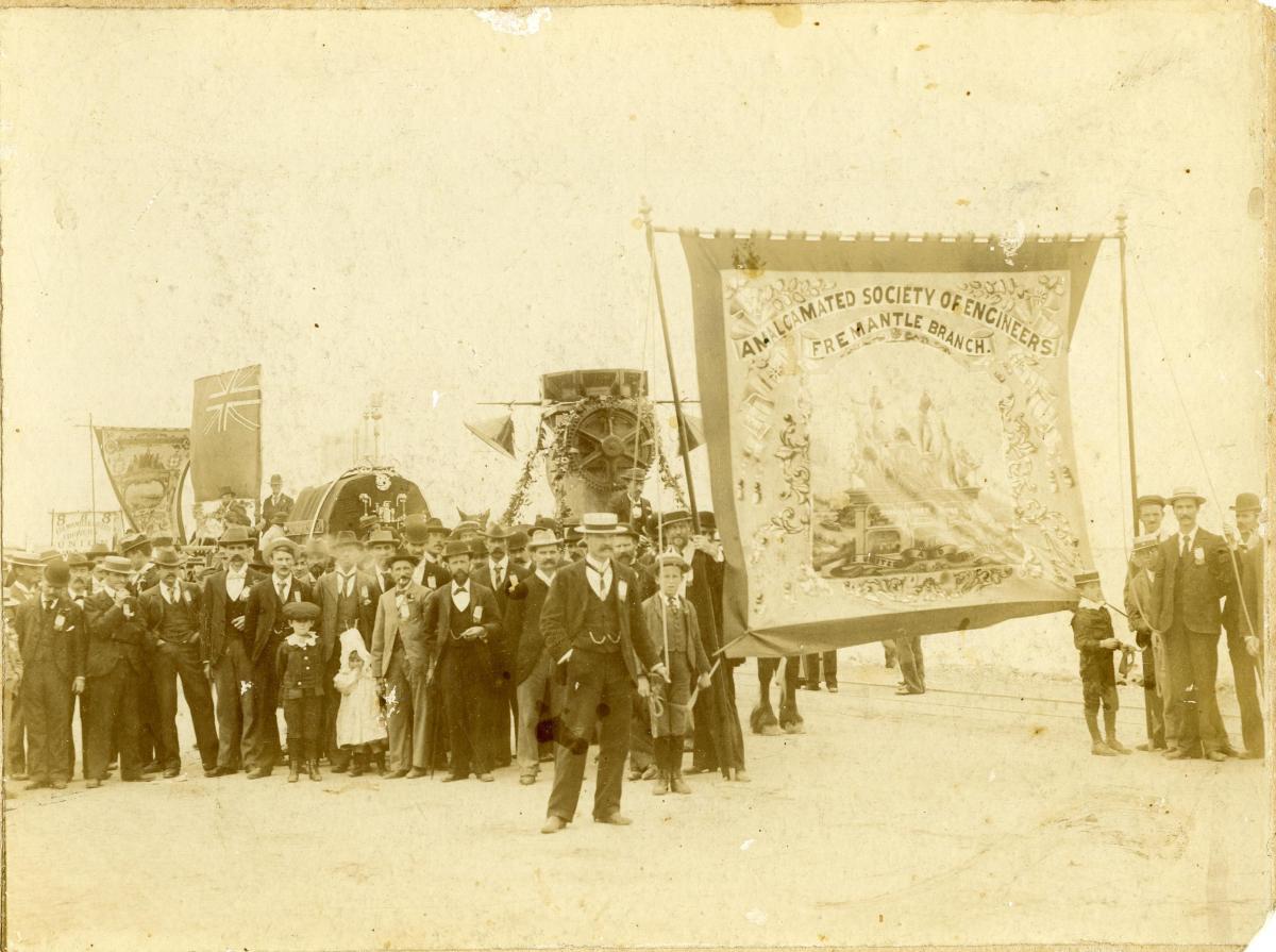 PHOTOGRAPH, Labour Day Procession