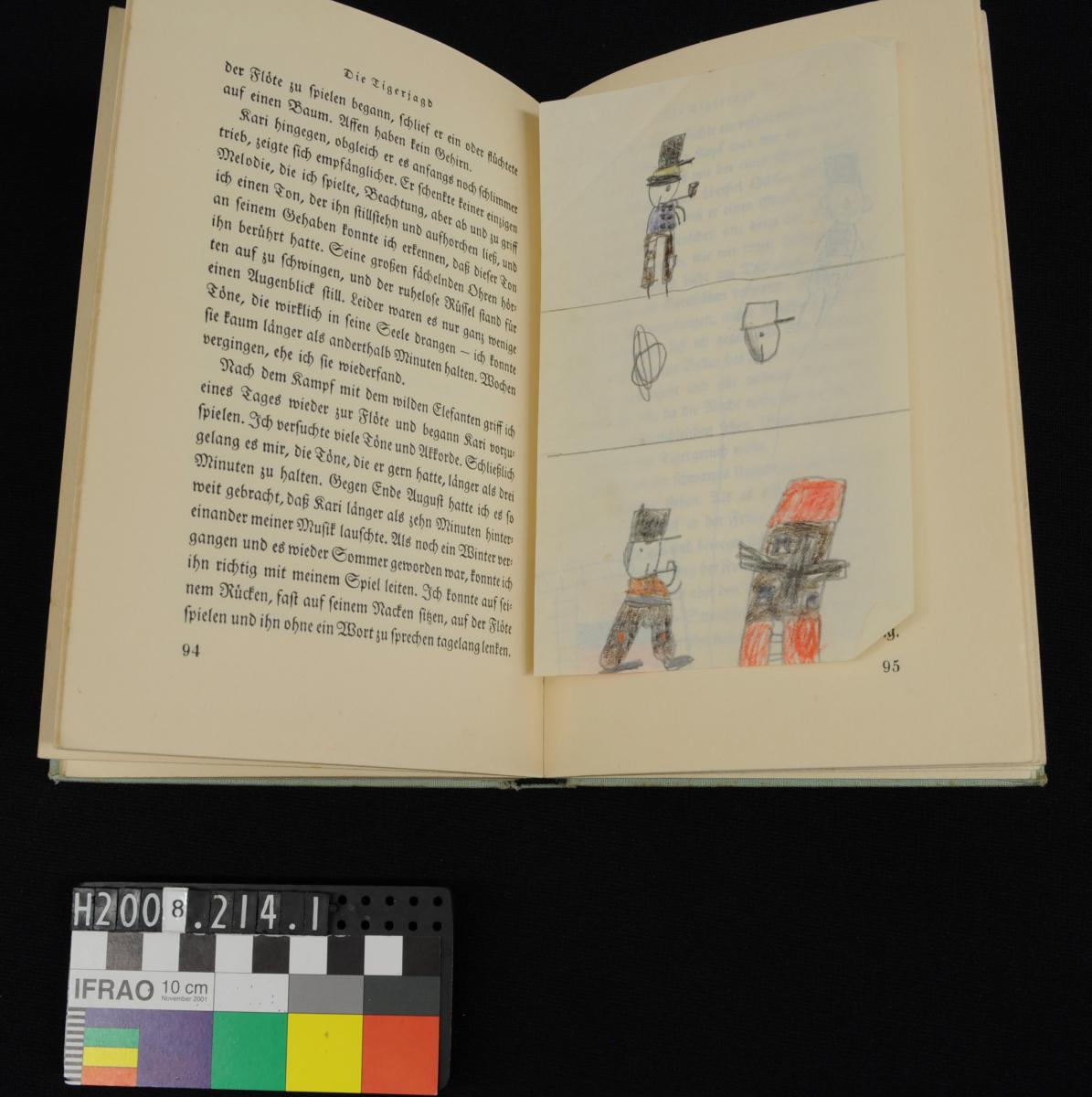 BOOK, child's, 'KARI/ DER/ ELEFANT'