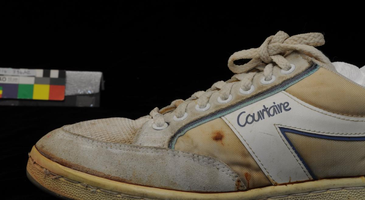 TENNIS SHOES, 'Dunlop Sport Courtaire', Margaret Court