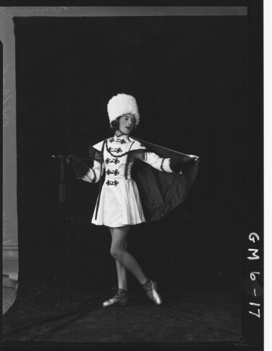 Portrait of young woman dancer, F/L Kennedy.