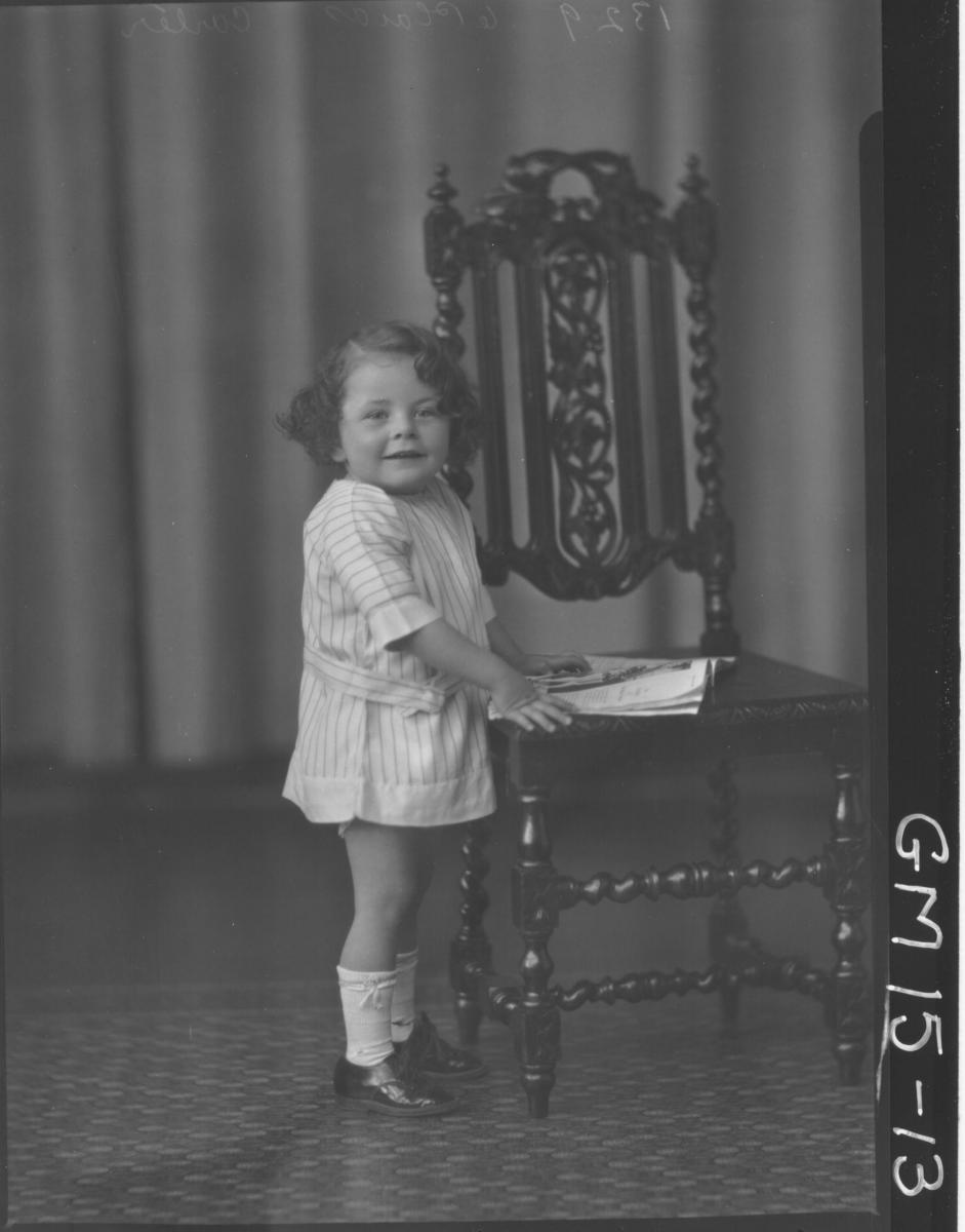 portrait of young child F/L, 'Carter'