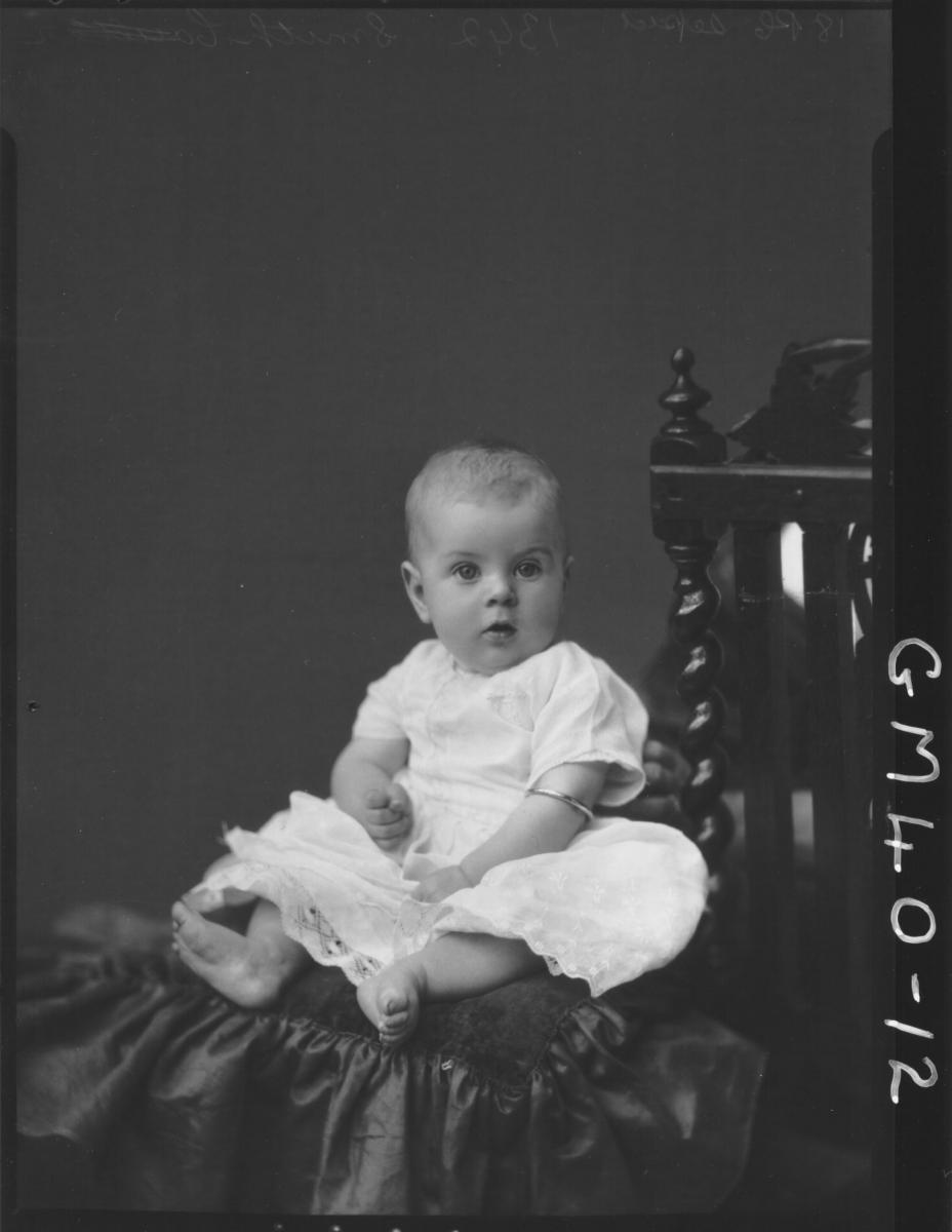 portrait of baby, F/L Smith