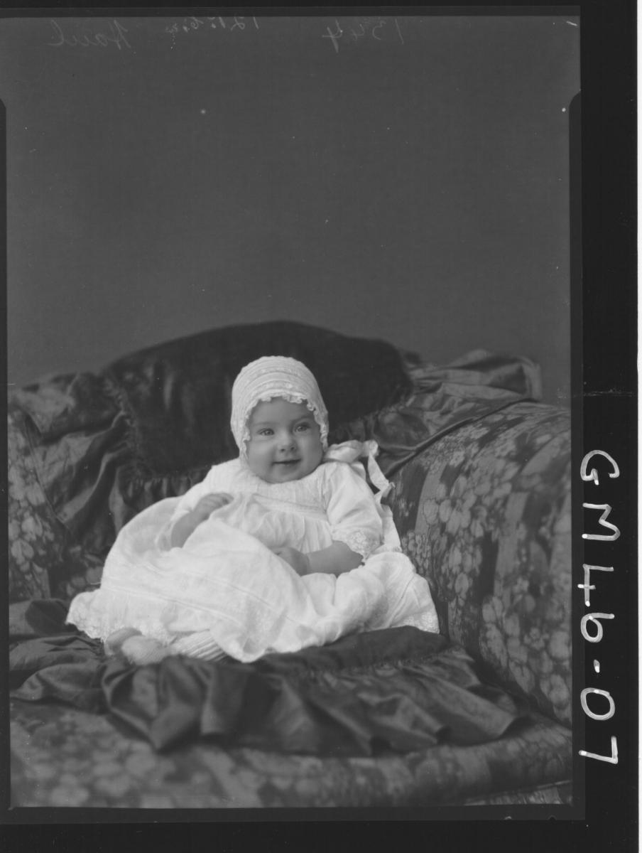 portrait of baby, F/L Haul