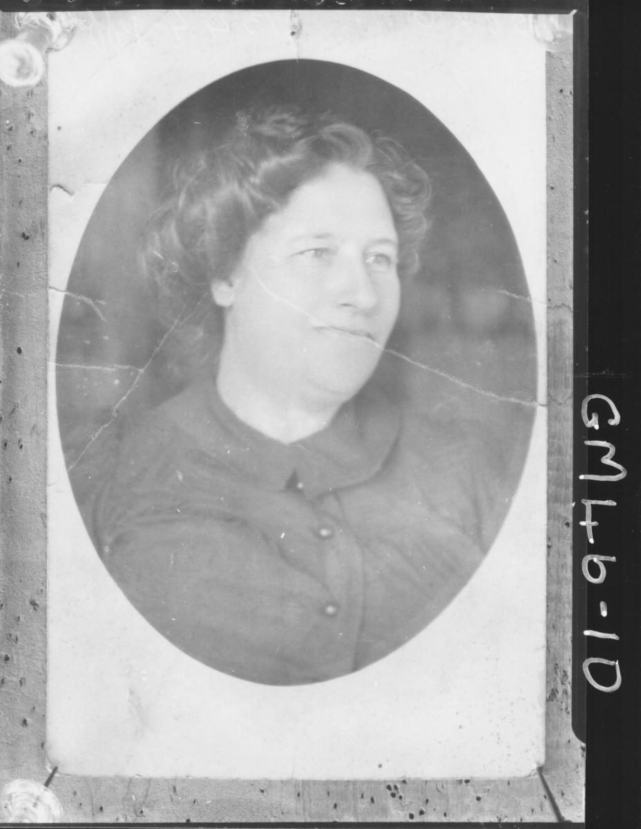 copy of portrait of woman, H/S Jeffries