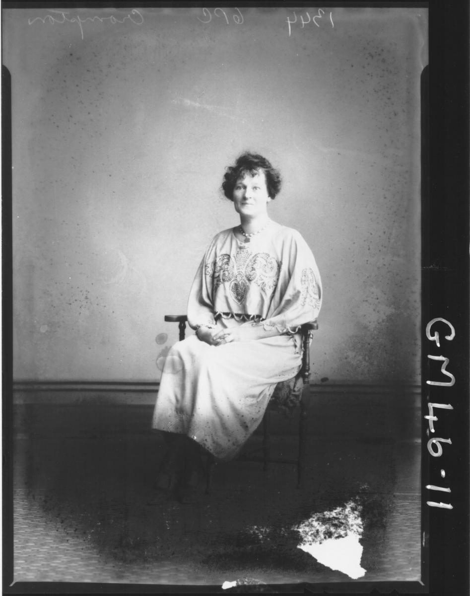 portrait of woman, F/L Crompton