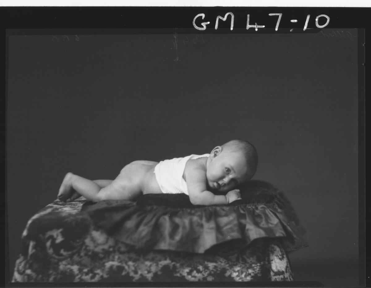 portrait of baby, F/L Gilbert