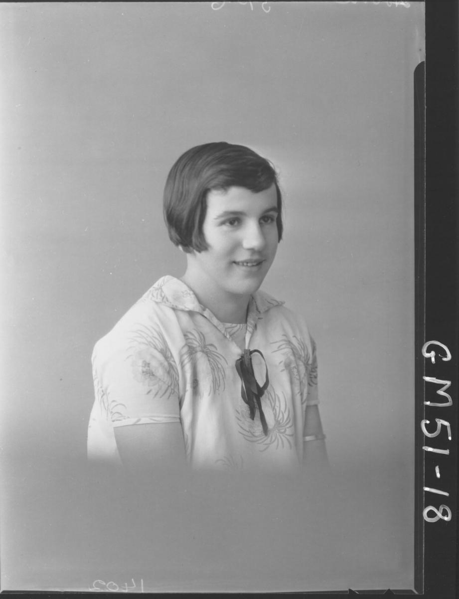 portrait of girl, H/S Hobba