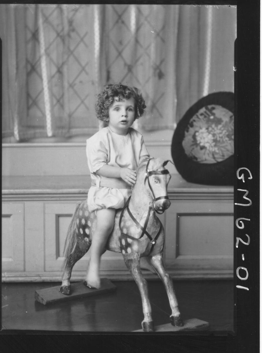 Portrait of child Moran