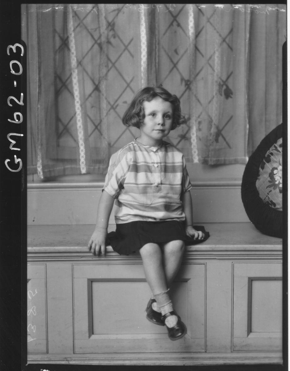 Portrait of child F/L, Moore