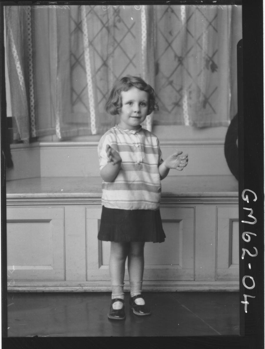 Portrait of child Moore