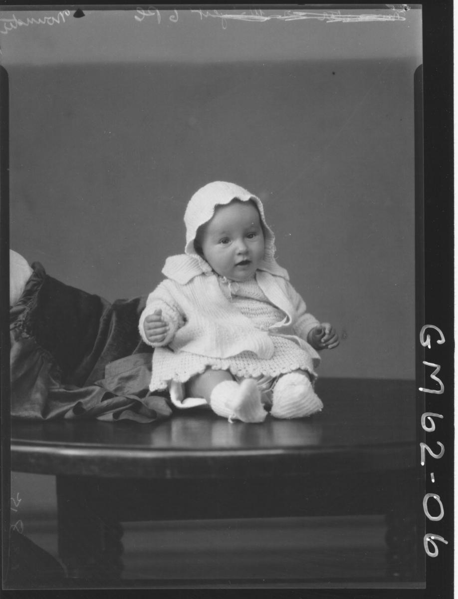 Portrait of baby Mounster