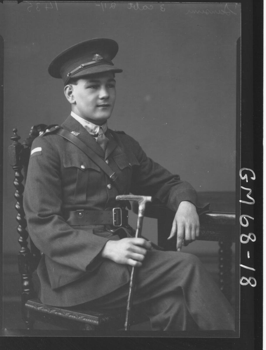 PORTRAIT OF ARMY OFFICER, SANSUM