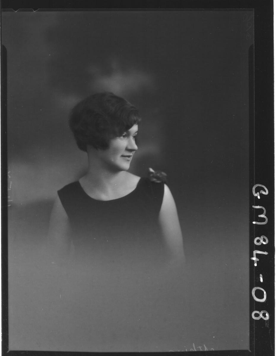 PORTRAIT OF WOMAN, H/S, ATKINS