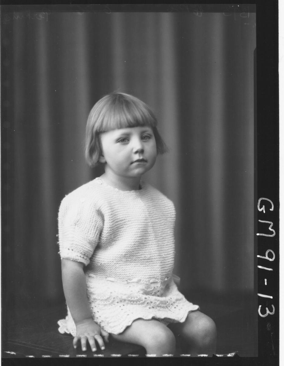 PORTRAIT OF CHILD, 'PERKINS'