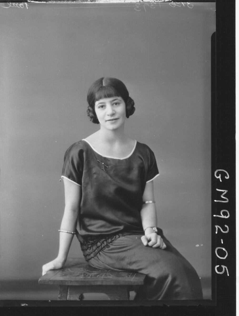 PORTRAIT OF WOMAN, 'PAUL'