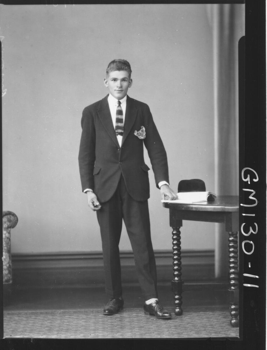 Portrait of man 'Berjovich'
