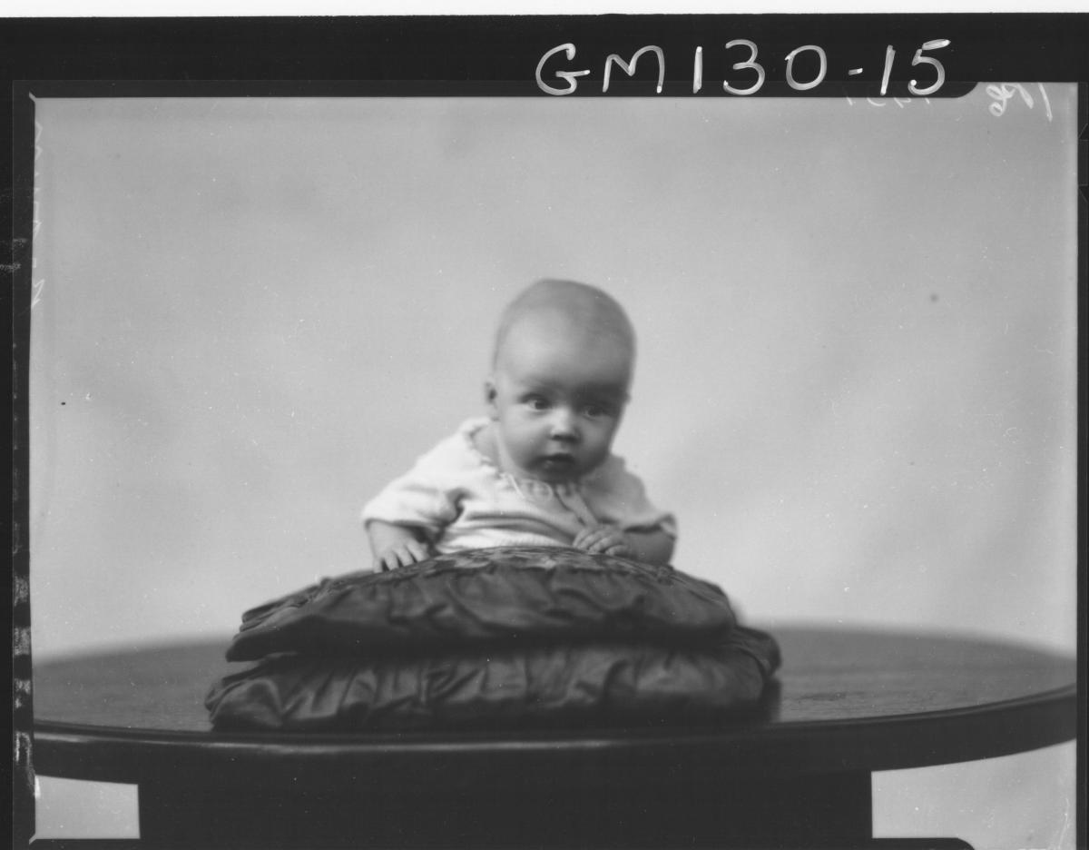 Portrait of baby 'Brown'