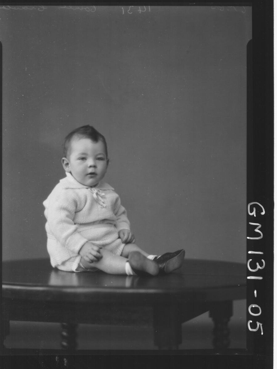 Portrait of baby 'Connel'