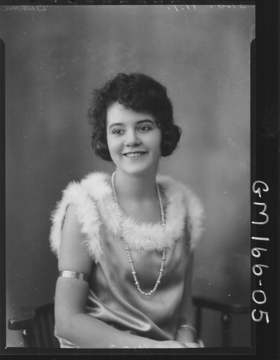 Portrait of woman 'Dunne'