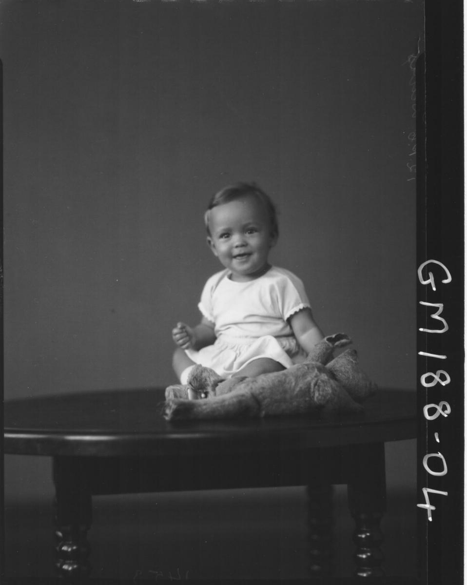 Portrait of baby 'Davis'