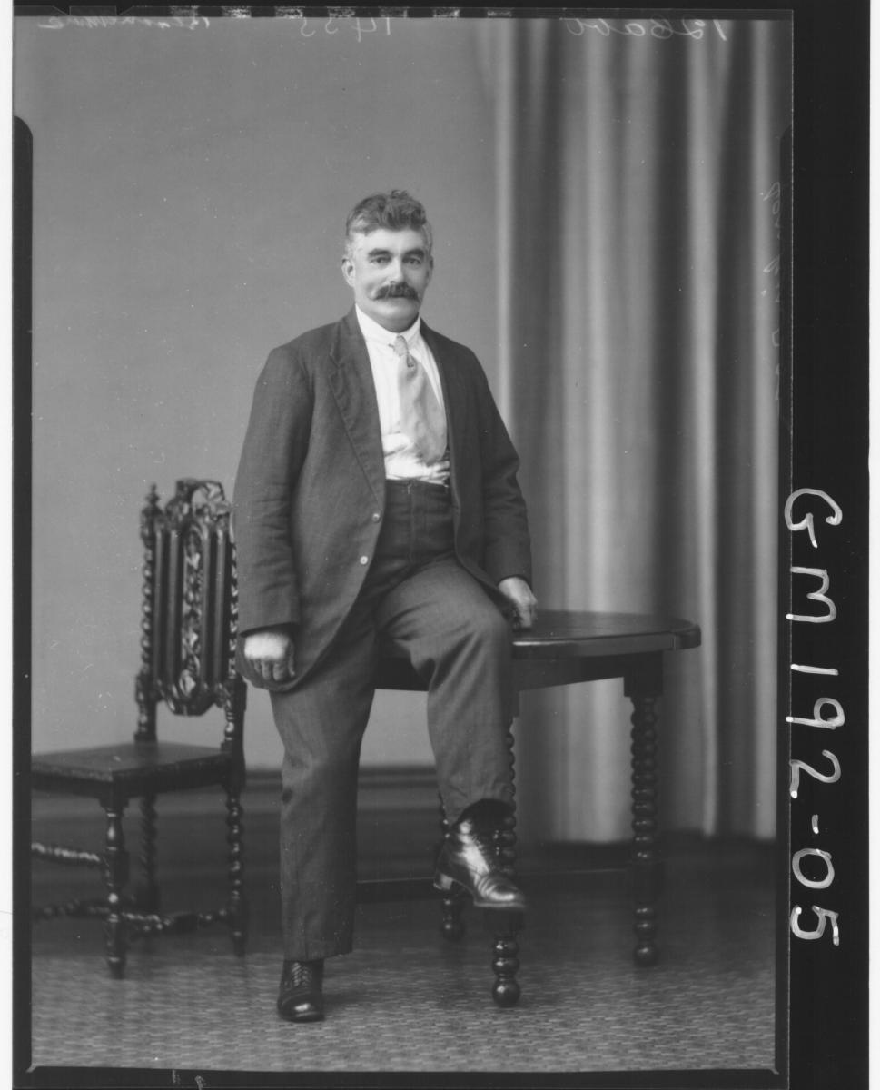 Portrait of man 'Jenkinson'