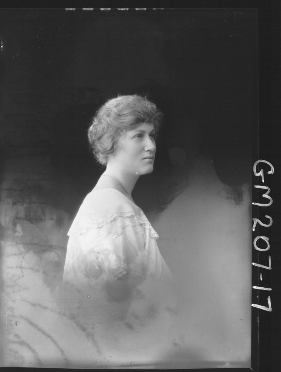 Portrait of woman 'Harris'