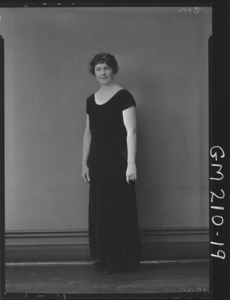 Portrait of woman 'Don'