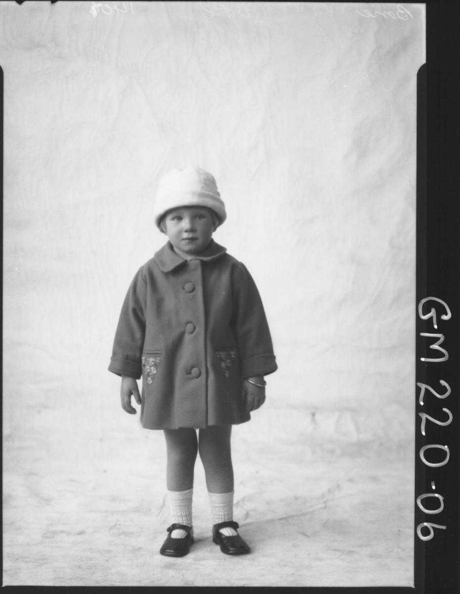 Portrait of child 'Bone'
