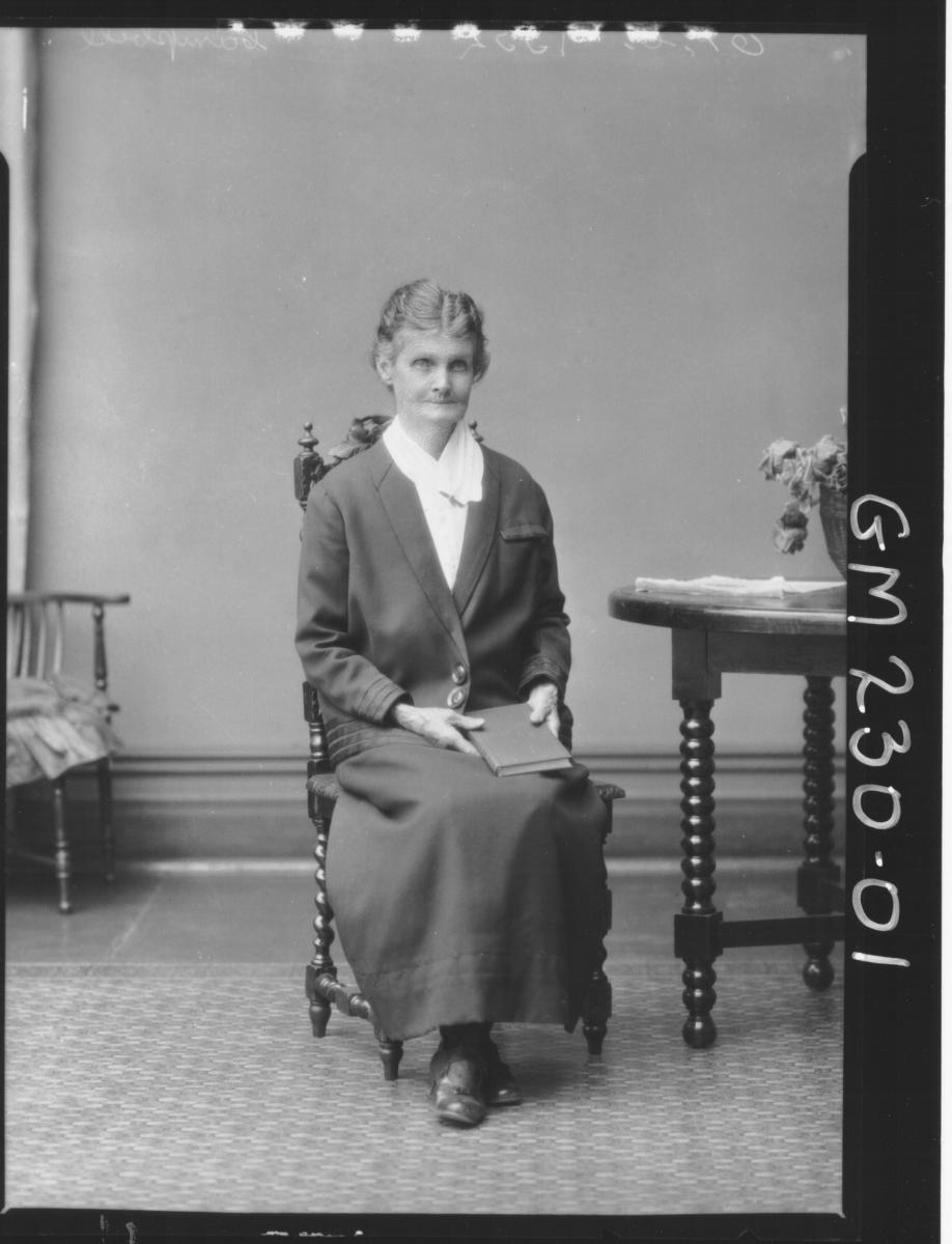 Portrait of woman 'Campbell'