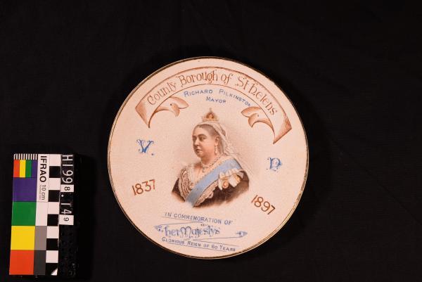 Commemorative Plate - Queen Victoria