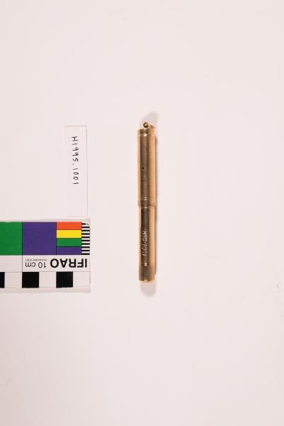 Claude de Bernales- gold pen