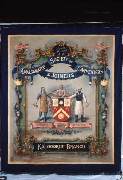 UNION BANNER, Carpenters and Joiners